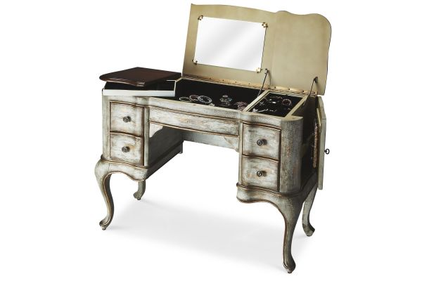 Large image of Butler Specialty Company Charlotte Rustic Blue Vanity - 0735286