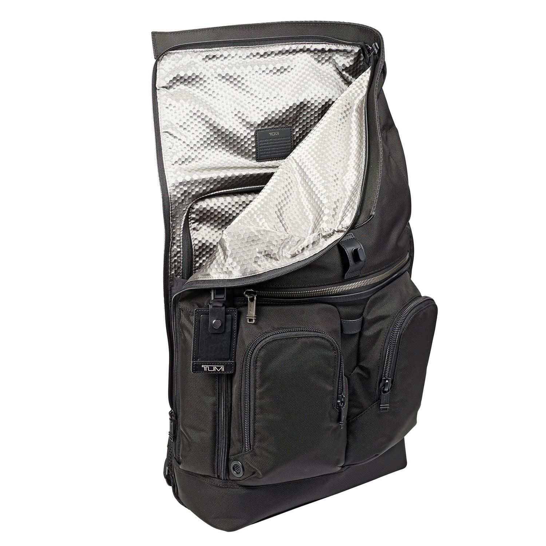 7e8d0ee07f7e Tumi Alpha Bravo Black London Roll Top Backpack - 103302-1041. Tumi  103302-1041 - 1