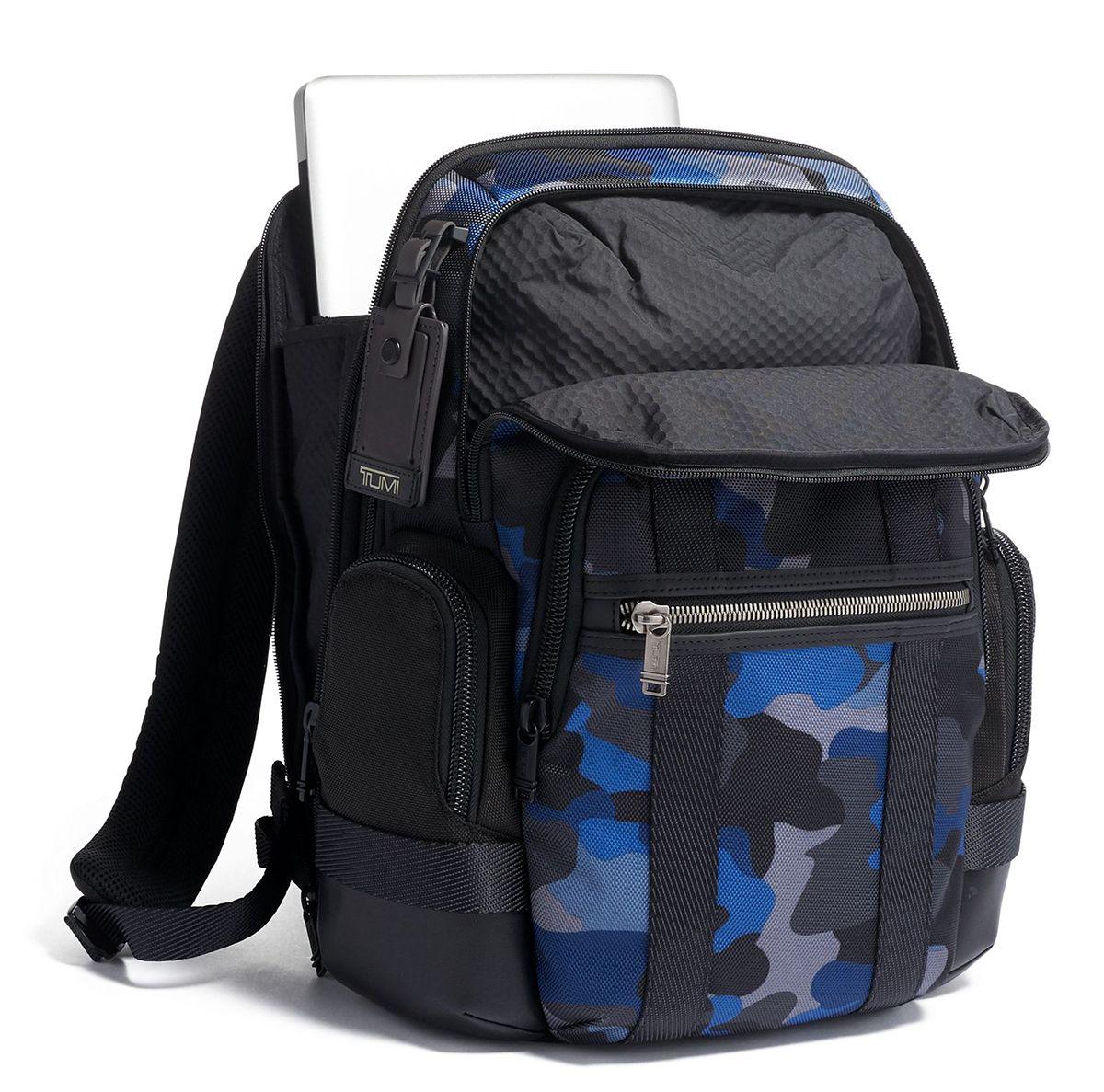 f1fb55dc0 Tumi Alpha Bravo Camo Nathan Backpack - 1253698138. Tumi 1253698138 - Nathan  Backpack Interior 1