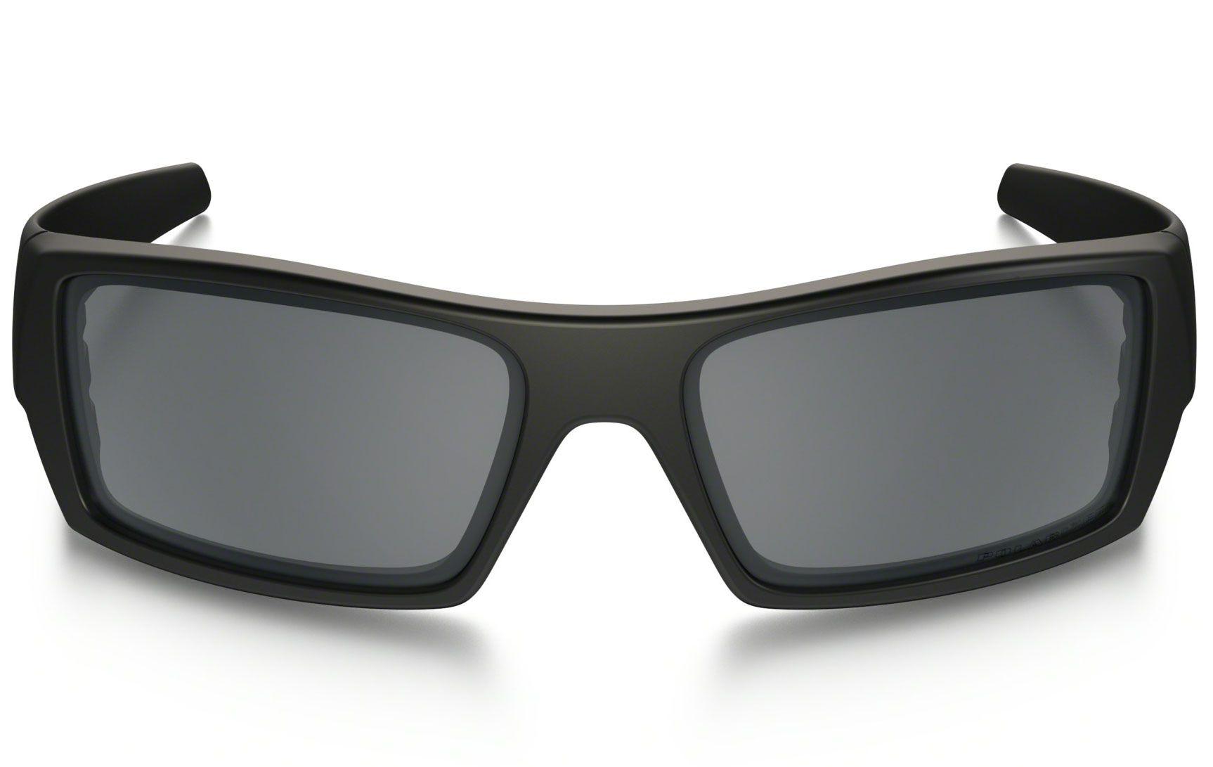 f4e00f2886c Oakley Polarized Gascan Matte Black Sunglasses - OO9014 12-856 61