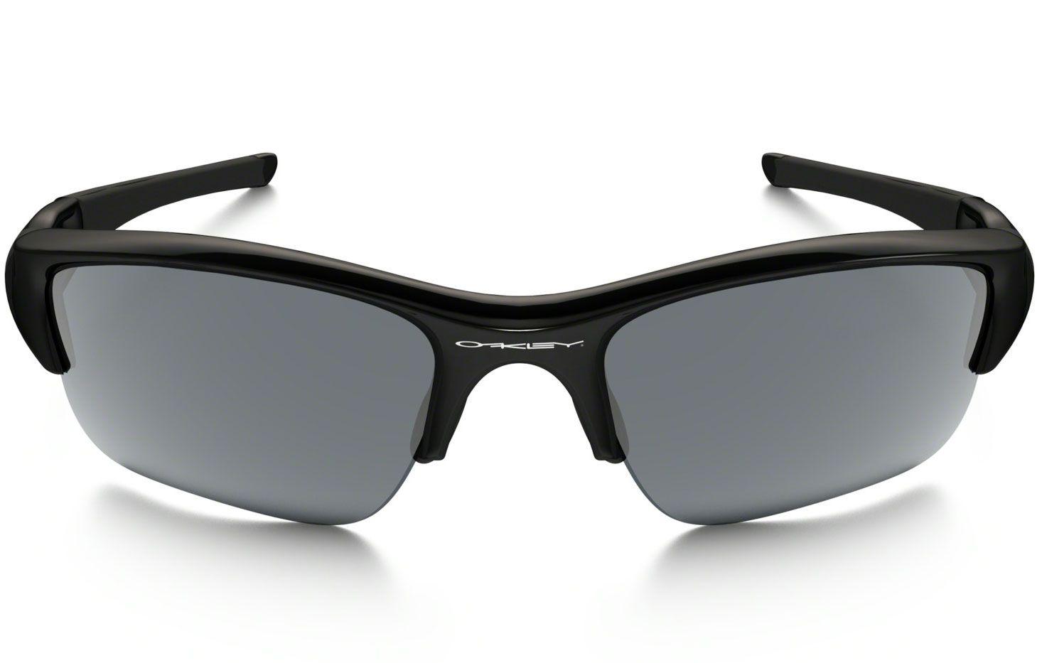 c6d8df9fe4 Oakley Polarized Flak Jacket Wrap Black Sunglasses - OO9011 12-903 63.  Oakley OO9011 12-903 63 - 1