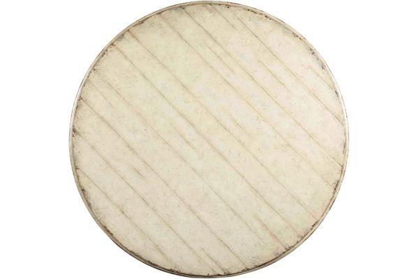 Hooker Furniture Dining Room Auberose Round Pedestal Table - 1595-75201-WH