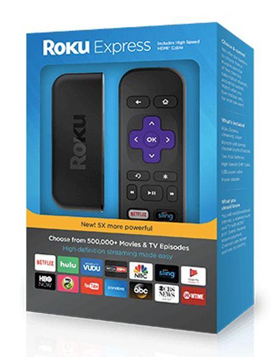 Roku Black Streaming Stick Express 3900r