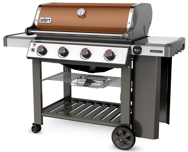 weber genesis ii e 410 liquid propane gas grill 62020001