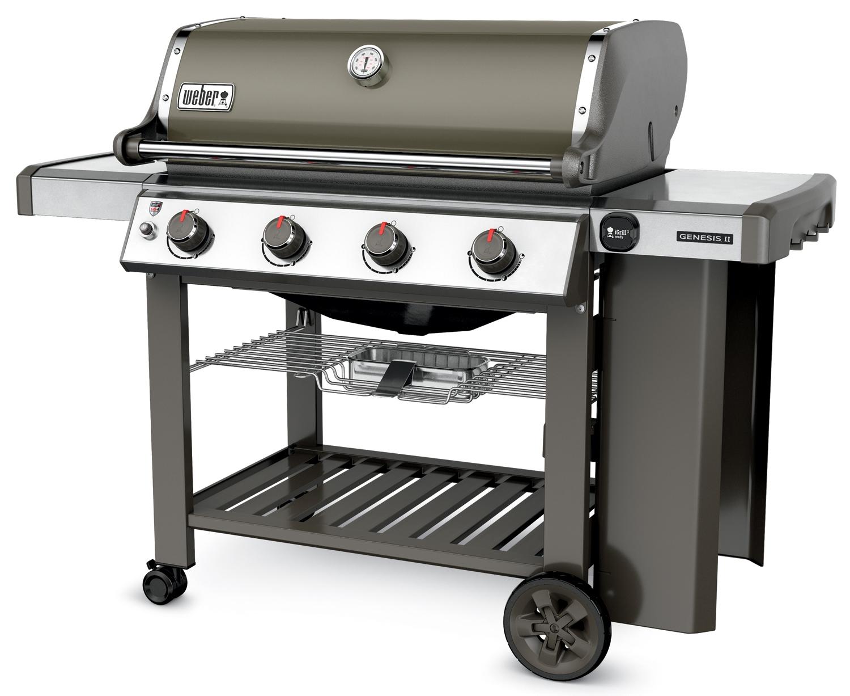 weber genesis ii e 410 liquid propane gas grill 62050001. Black Bedroom Furniture Sets. Home Design Ideas