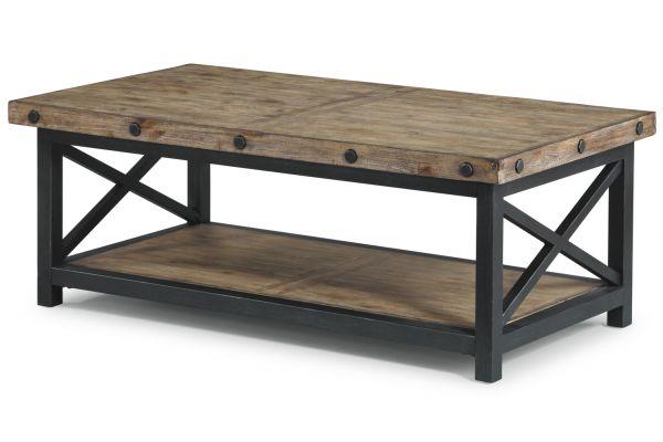 Large image of Flexsteel Carpenter Rectangular Coffee Table - 6723-031