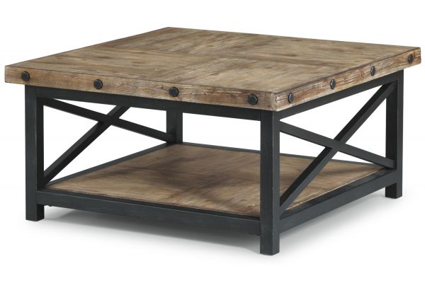 Large image of Flexsteel Carpenter Square Coffee Table - 6723-032