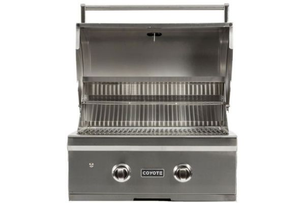 "Coyote 28"" Stainless Steel Built-In C-Series Natural Gas Grill - C1C28NG"