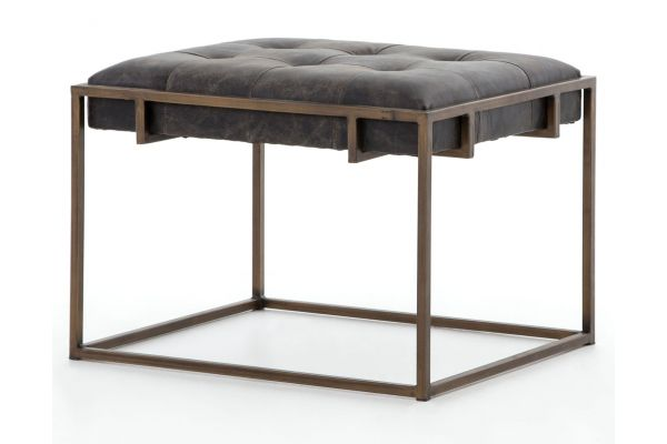 Large image of Four Hands Irondale Collection Oxford End Table - CIRD-144