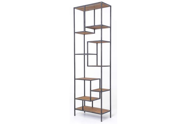 """Large image of Four Hands Irondale Collection Helena 102"""" Bookcase - CIRD-38E1-E2"""