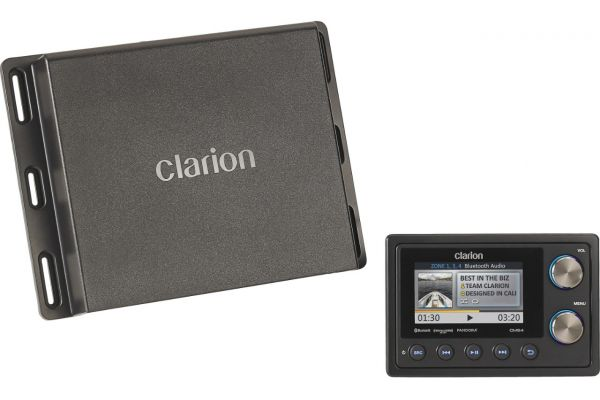 Large image of Clarion Marine Digital Media Receiver With Watertight Commander - 92705
