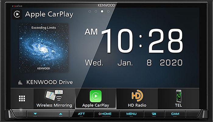 Kenwood Excelon Digital Multimedia Receiver Dmx 907s