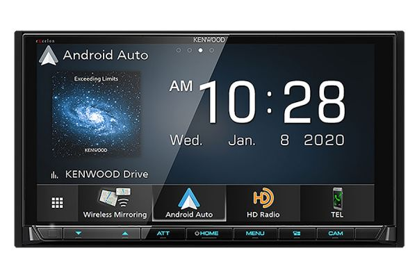 "Large image of Kenwood eXcelon Reference Series 6.8"" Digital Multimedia Receiver With Bluetooth & HD Radio - DMX-957XR"