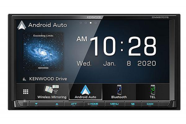 "Kenwood 6.95"" In-Dash Digital Multimedia Receiver With Bluetooth - DMX-9707S"