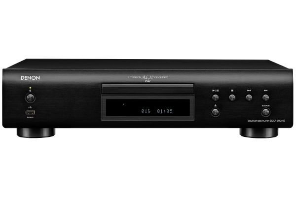 Large image of Denon Black Network Audio Player with Wi-Fi and Bluetooth - DNP-800NE