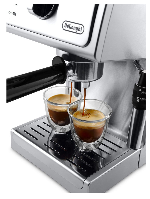 delonghi espresso maker how to use