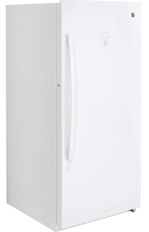 Ge Upright Freezer Manual Ge 141 Cu Ft Frost Free Upright Freezer Fuf14dlrww