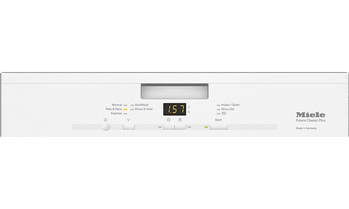 miele 24 classic plus dishwasher g 4926 scu w. Black Bedroom Furniture Sets. Home Design Ideas