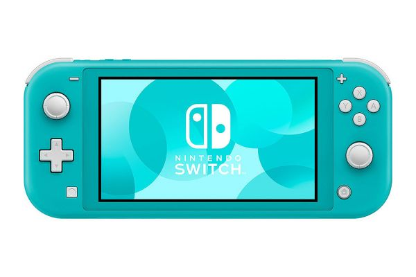 Large image of Nintendo Switch Lite Turquoise Gaming Console - HDHSBAZAA