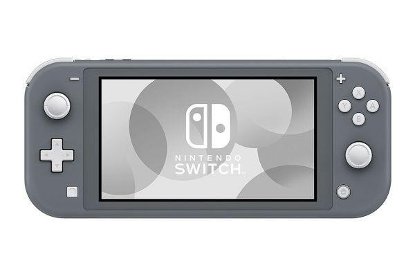 Large image of Nintendo Switch Lite Grey Gaming Console - HDHSGAZAA