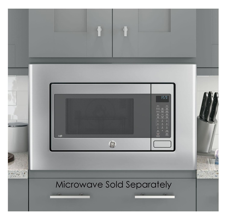 Ge 27 Microwave Trim Kit In Stainless