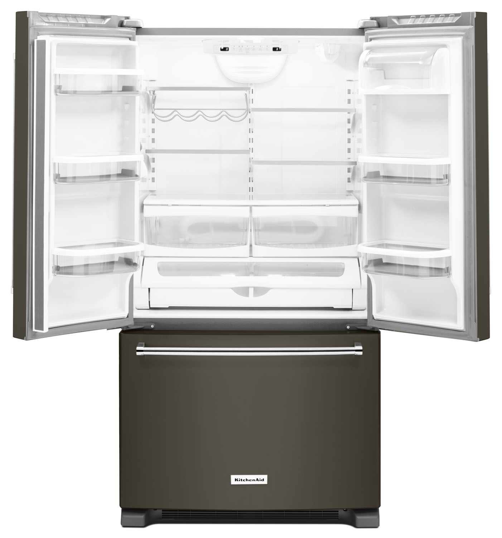Kitchenaid Black Stainless Refrigerator: KitchenAid Black Stainless Refrigerator