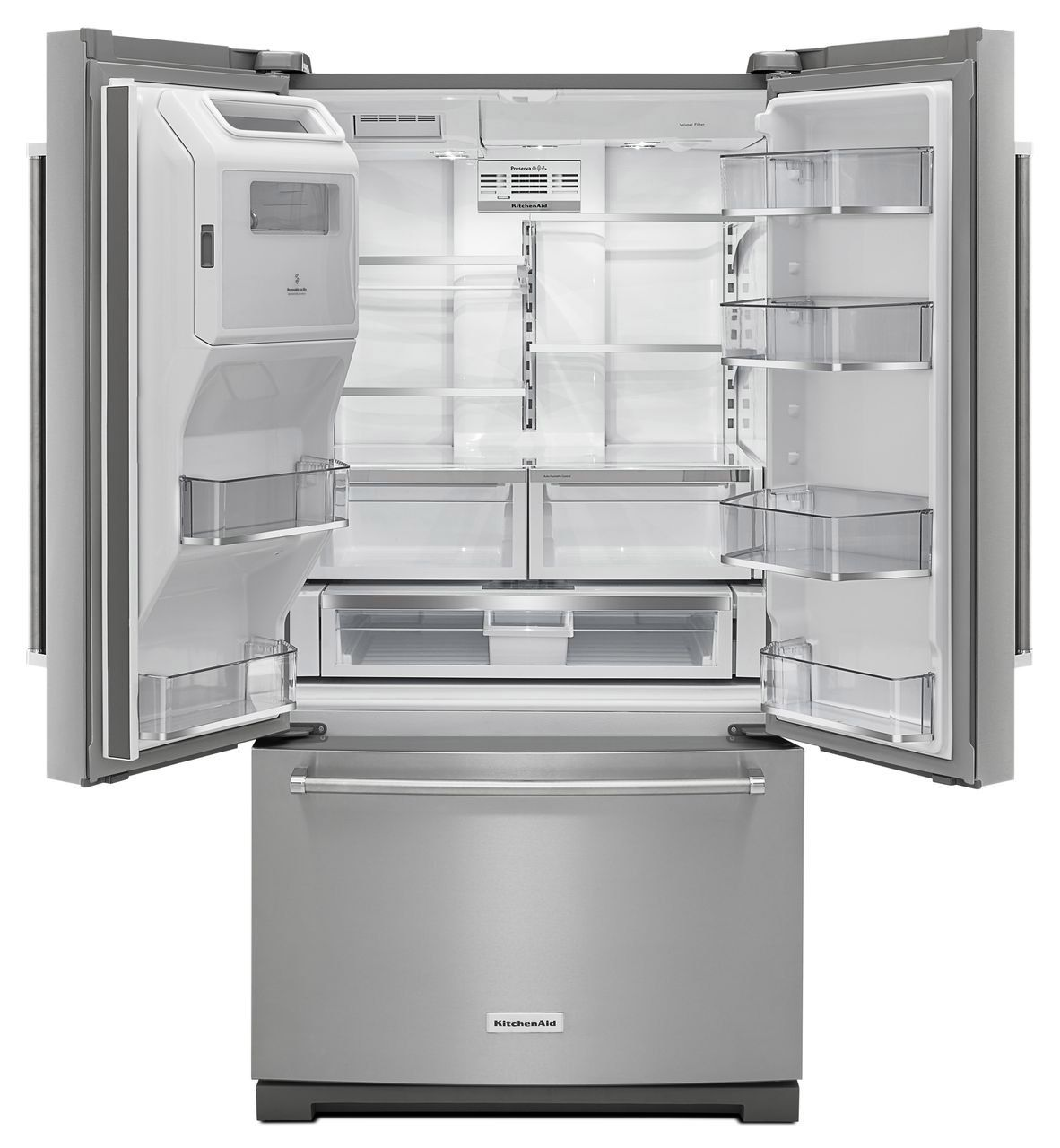 Kitchenaid French Door Refrigerator Krff507ess