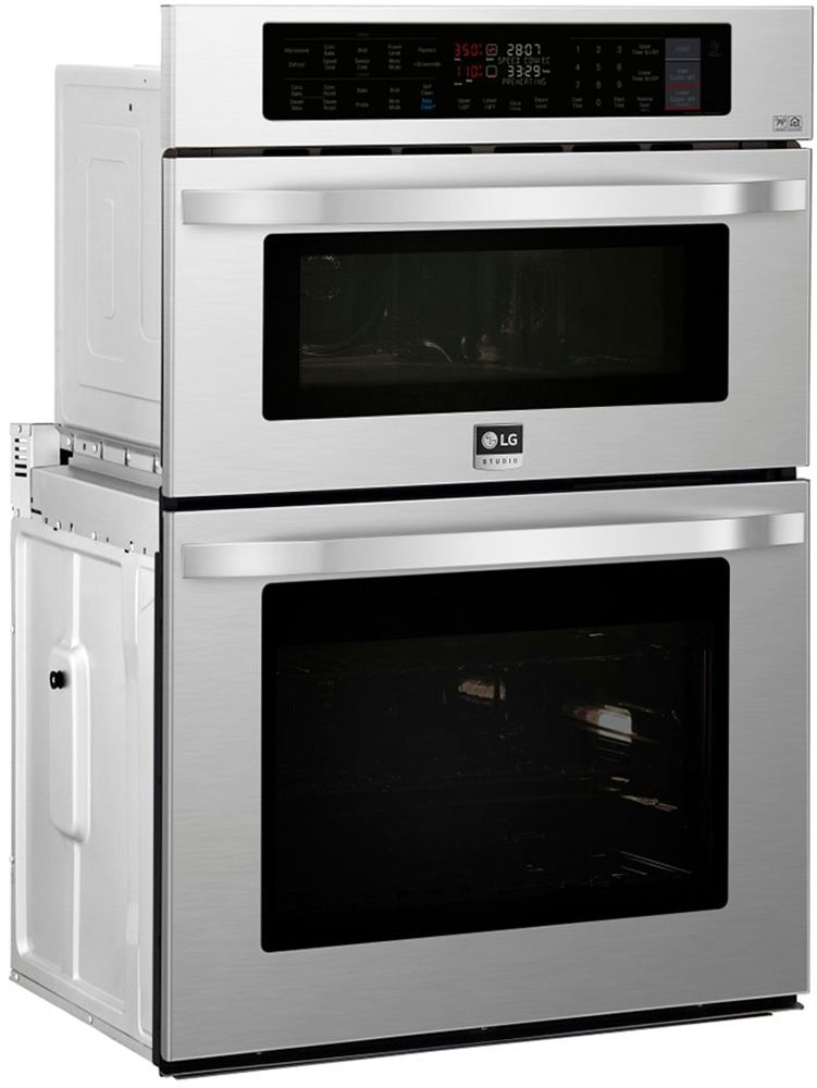 Lg Studio 30 Stainless Combination Wall Oven Lswc307st