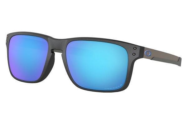 Large image of Oakley Holbrook Mix Prizm Sapphire Polarized Mens Sunglasses - OO9384-1057