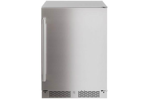 """Large image of Zephyr Presrv 24"""" Stainless Steel Outdoor Single Zone Beverage Cooler - PRB24C01ASOD"""