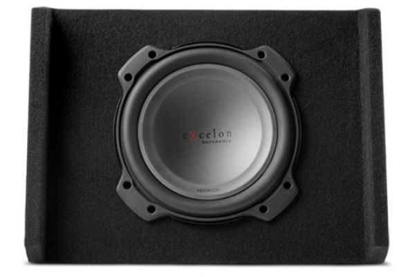 """Large image of Kenwood eXcelon 10"""" Oversized Subwoofer with Sealed Down-Firing Enclosure - P-XRW1002DB"""