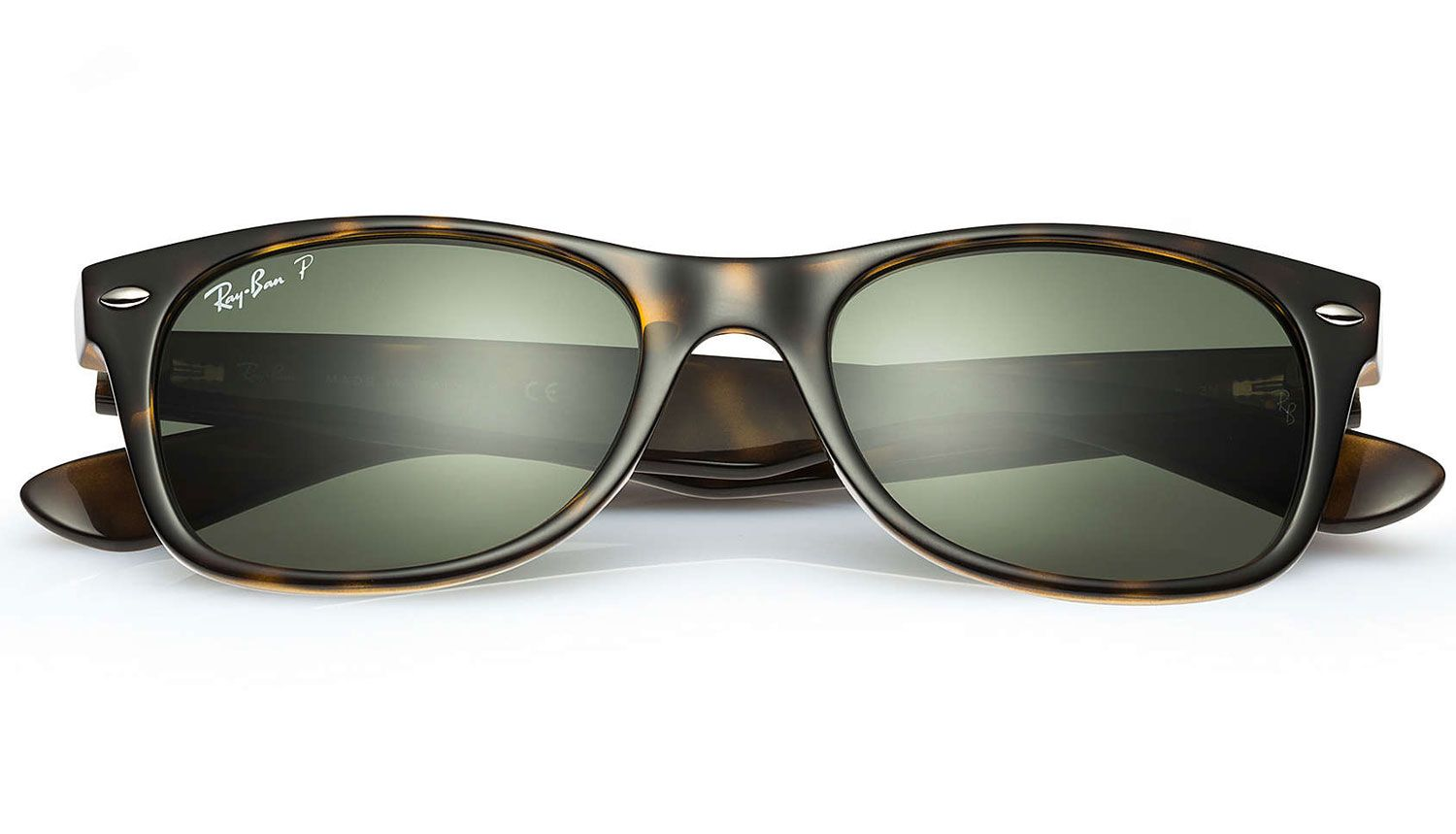0f9b28873a ... Polarized New Wayfarer Classic Tortoise Unisex Sunglasses - RB2132 902  58 52. Ray-Ban RB2132 902 58 52-18 - 1