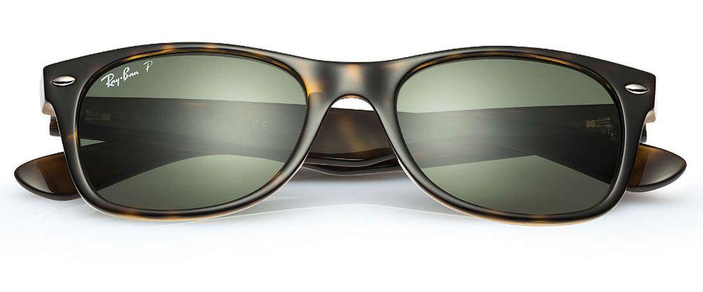 be4264aa94 Ray-Ban Wayfarer Tortoise Unisex Sunglasses - RB2132 902