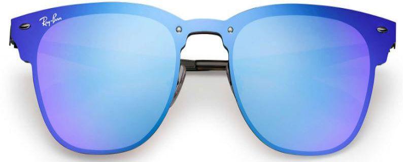 d7b67d053c Ray-Ban Blaze Clubmaster Violet Blue Sunglasses - RB3576N 153 7V 10-47