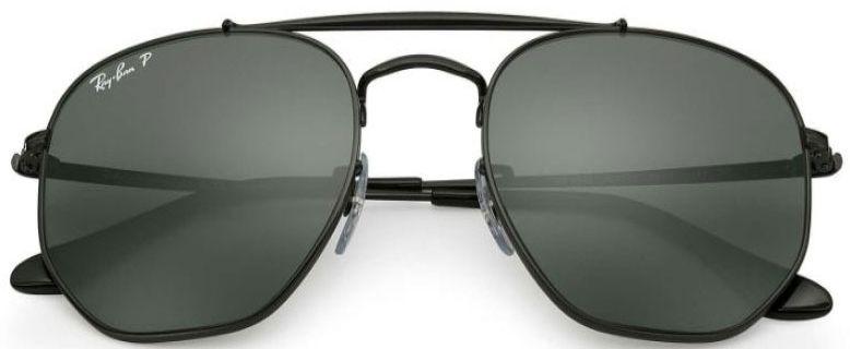 d7b0e6bf222 ... Marshal Black Polarized Green Classic G-15 Unisex Sunglasses - RB3648  002. Ray-Ban RB3648 002 58 54-21 - 1