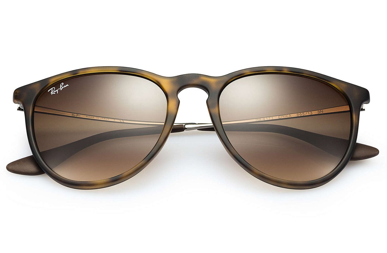 21758f2d39b8a Ray-Ban Erika Tortoise Brown Sunglasses - RB4171 865 13 54