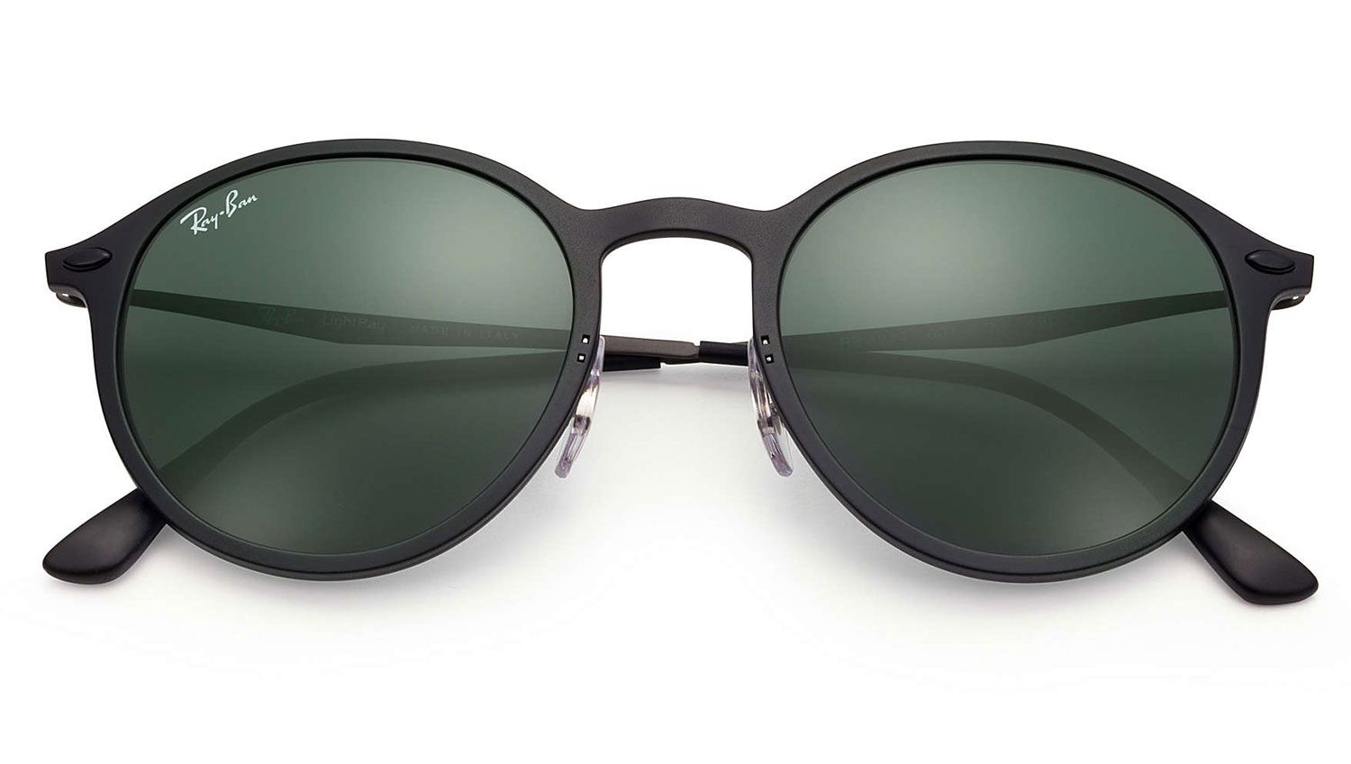 98142c1098 ... Round Light Ray Black And Green Classic Sunglasses - RB4224 601S71 · Ray -Ban RB4224 601S71 - 1