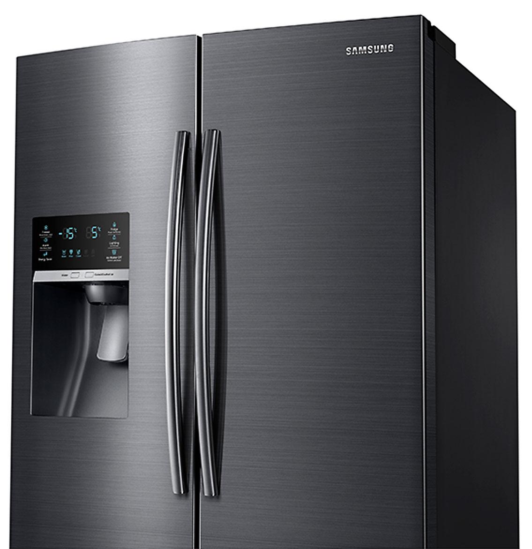 Samsung Black Stainless Refrigerator Rf28hfedbsg