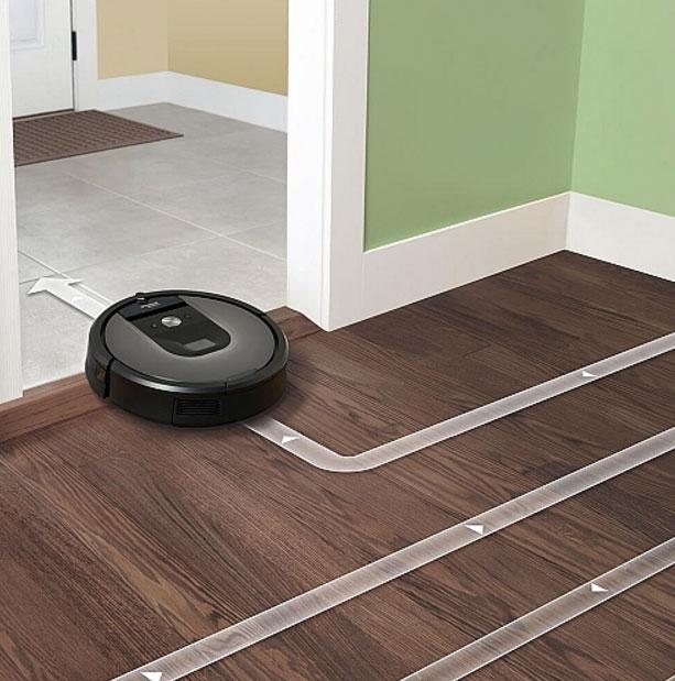 iRobot Roomba 960 Wi-Fi Vacuuming Robot - R960020