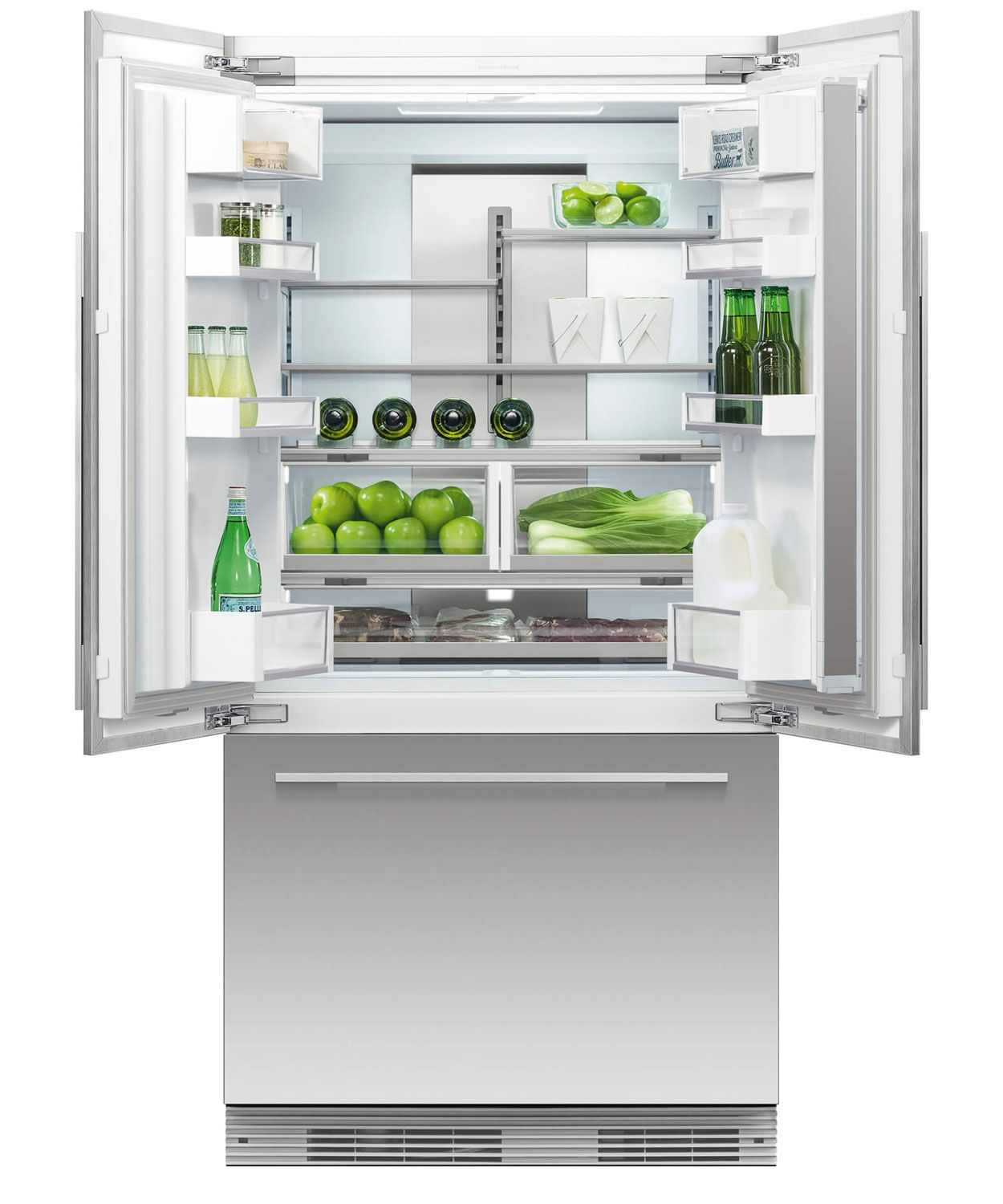 Fisher Paykel Panel Built In French Door Refrigerator Rs36a72j1