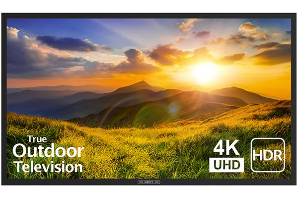 "Large image of SunBriteTV 55"" Black Signature 2 Series 4K Ultra HDR Partial Sun Outdoor HDTV - SB-S2-55-4K-BL"