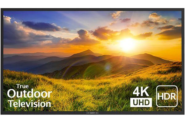 "Large image of SunBriteTV 65"" Black Signature 2 Series 4K Ultra HDR Partial Sun Outdoor HDTV - SB-S2-65-4K-BL"