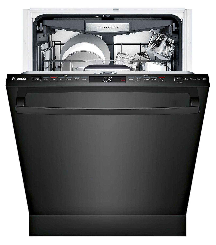 Bosch 800 24 Quot Bar Handle Built In Dishwasher Shxm78w56n