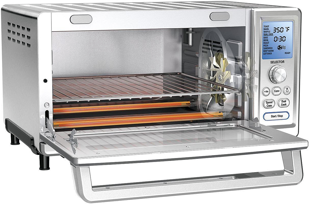 Cuisinart Stainless Convection Toaster Oven Tob 260n1