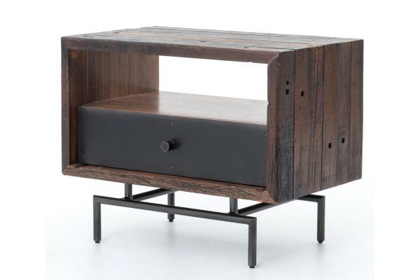 Large image of Four Hands Bina Collection Nash Side Table - VBNA-ST272