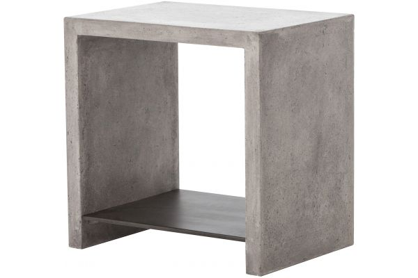 Large image of Four Hands Everett Collection Hugo End Table - VEVR-003