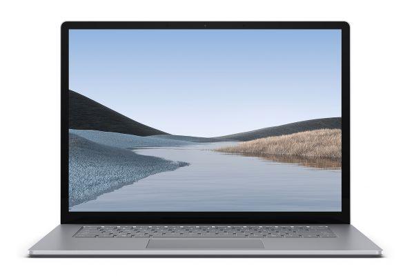 "Large image of Microsoft Multi-Touch Surface Laptop 3 15"" Platinum Laptop AMD Ryzen 7 3780U 16GB RAM 512GB SSD, AMD Radeon RX Vega 11 Graphics - VFL-00001"