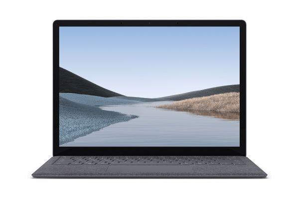 "Large image of Microsoft Surface Laptop 3 13.5"" Platinum Laptop Intel Core i7-1065G7 16GB RAM 512GB SSD, Intel Iris Plus Graphics - VGS-00001"
