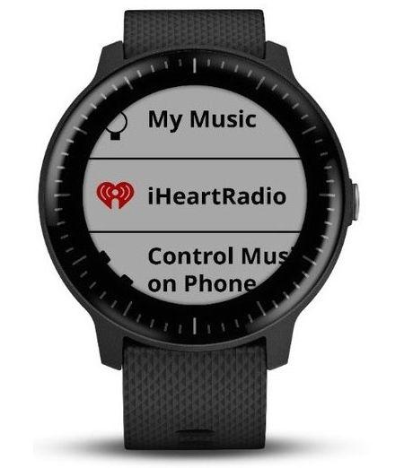 Garmin vivoactive 3 Music Black With Stainless Hardware GPS Smartwatch