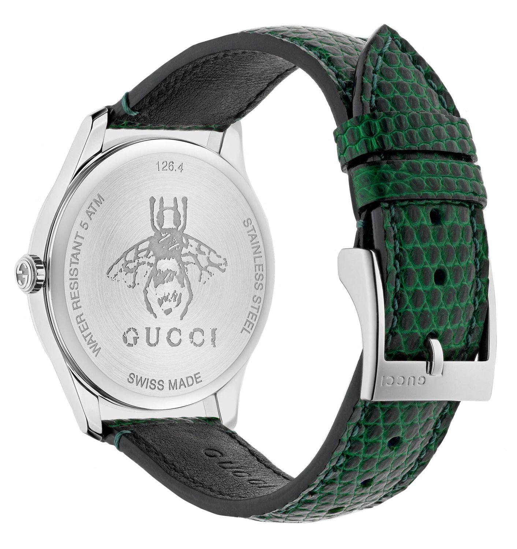 8c2eb9185f4 Gucci G-Timeless Green Ladies Watch - YA1264042